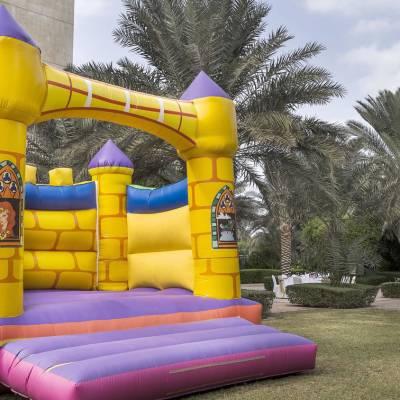 Palm Garden Bouncy Castle