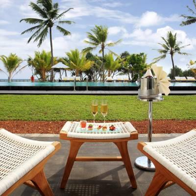 Deluxe Poolside Terrace