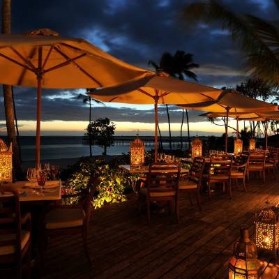 Dining at The Residence Zanzibar