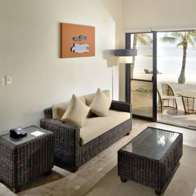 Premium Beachfront Living Room