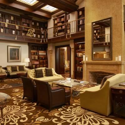 St Regis Bar Library