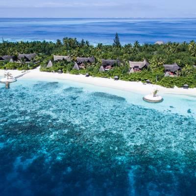 Beach suite aerial view