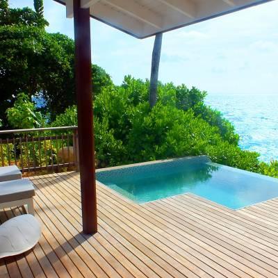 Ocean View Pool Chalet