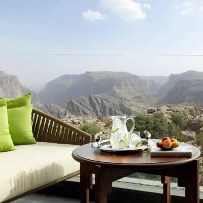 Deluxe canyon view, Anantara Al Jabal Al Akhdar