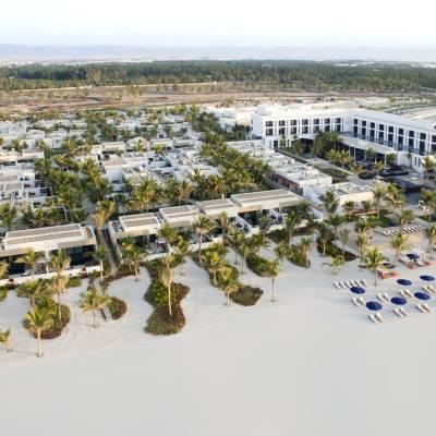 Aerial Resort View