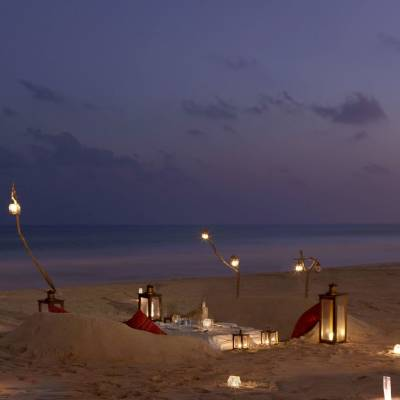 Private Beach Dining, Oman