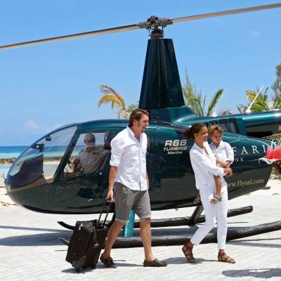 The Villa Helicopter