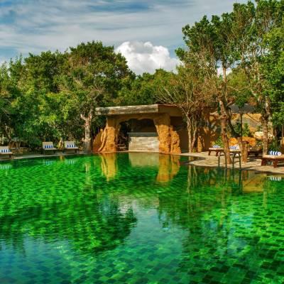 Swimming pool, Chena Huts