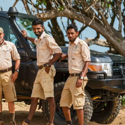 Safari guides, Chena Huts