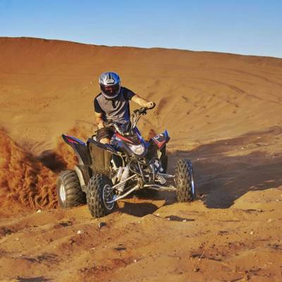 Quadbiking on the Dunes