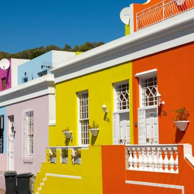 Bo Kaap area of Cape Town