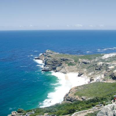 The dramatic coastline
