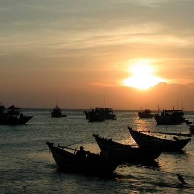 Fishing boats of Phan Thiet