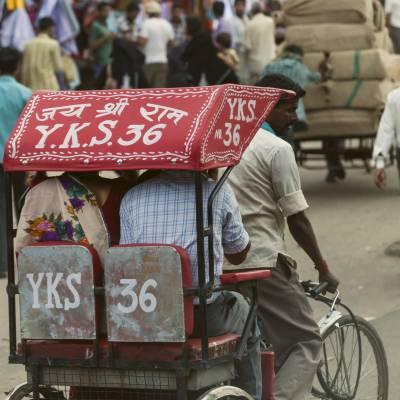 Traditional Rickshaw