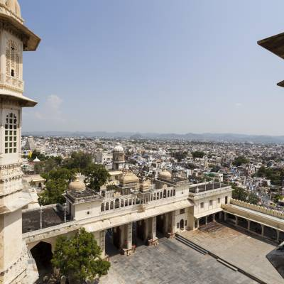 View of Udaipur from City Palace