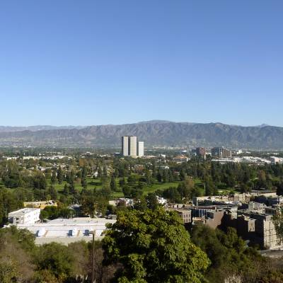 View from Hollywood Hills