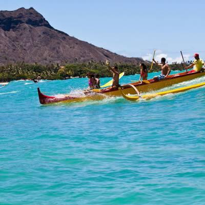 Traditional kayaking