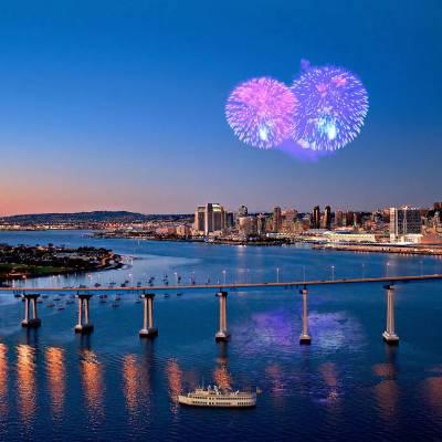4th July Fireworks over Coronado