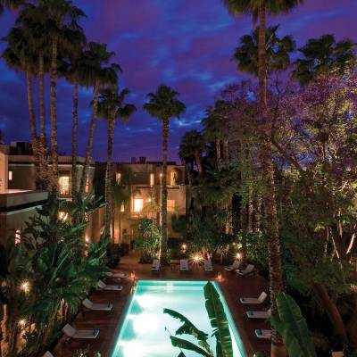 Resort View at Night