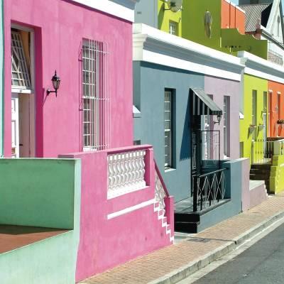 Bo Kaap District Cape Town