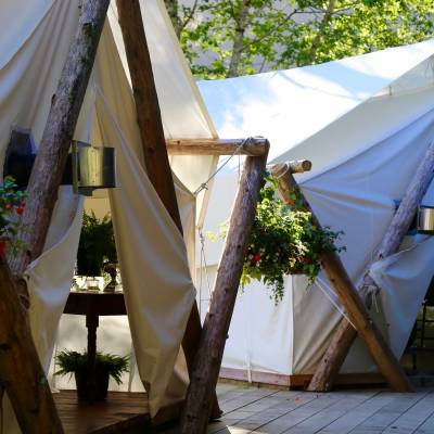 Clayoquot Dining Tents