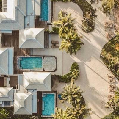 Devasom Khao Lak Aerial View