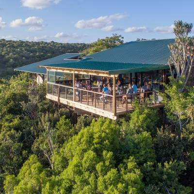 Kariega Main Lodge Viewing Deck