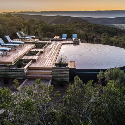Kariega Ukhozi Lodge Swimming Pool