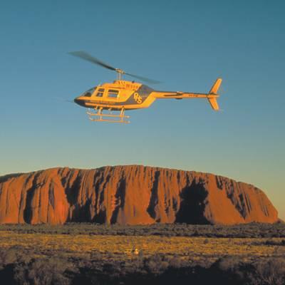 Helicopter Uluru