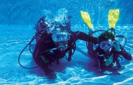 diving initiation