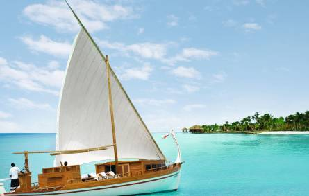 Dhoni Boat Excursion, Maldives