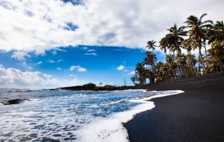Punaluu Black Sand