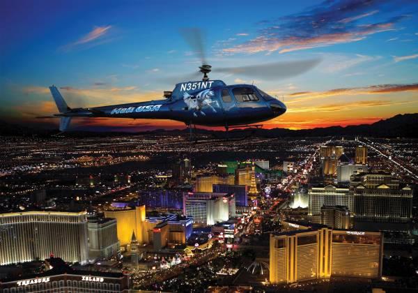 Flight over the Las Vegas Strip Heli