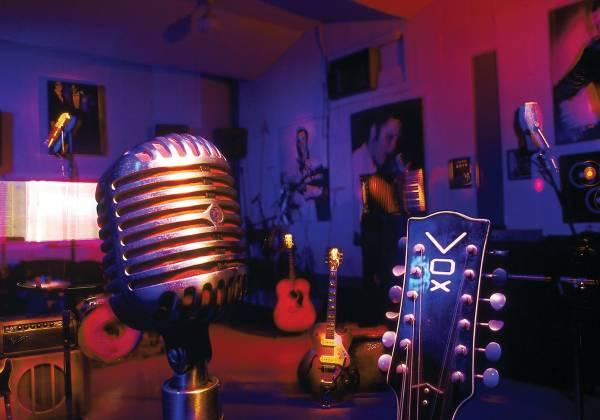 Recording Studio at Sun Studios