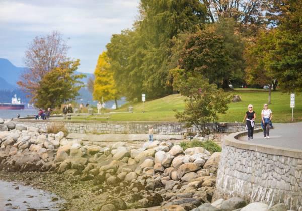 Stanley Park Seawall Vancouver