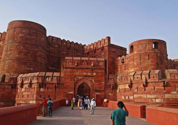 Agra Fort Exterior