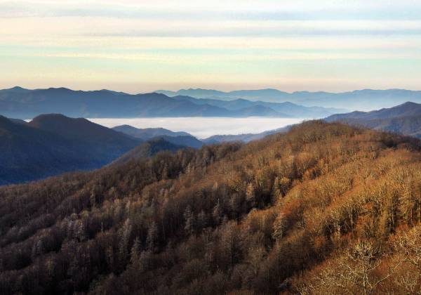 The Great Smoky Mountains National Park