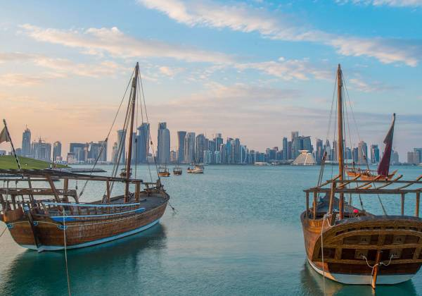 Doha shoreline