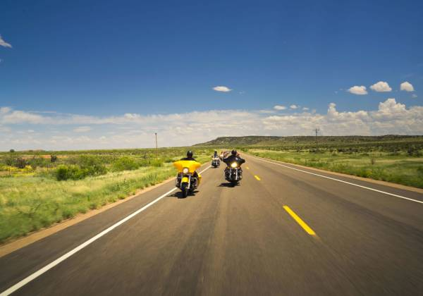 Eaglerider road trip along Route 66