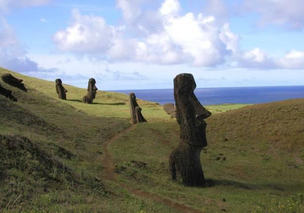 Chile Easter Island Moai
