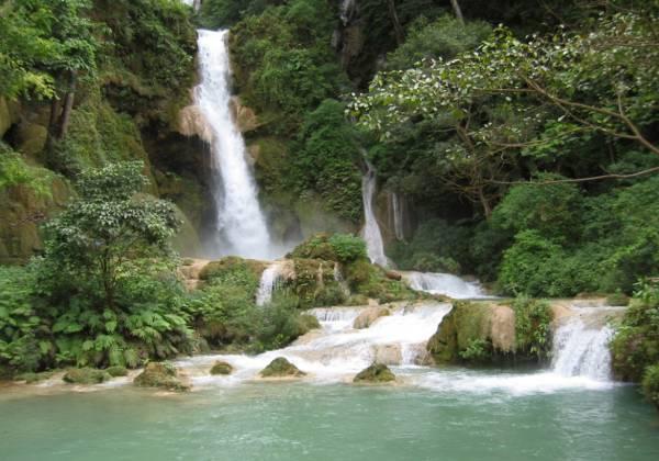 Khuang Xi Waterfalls