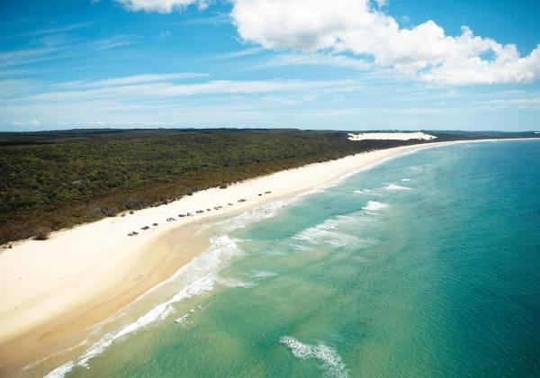 Orchid Beach Fraser Island Queensland Australia