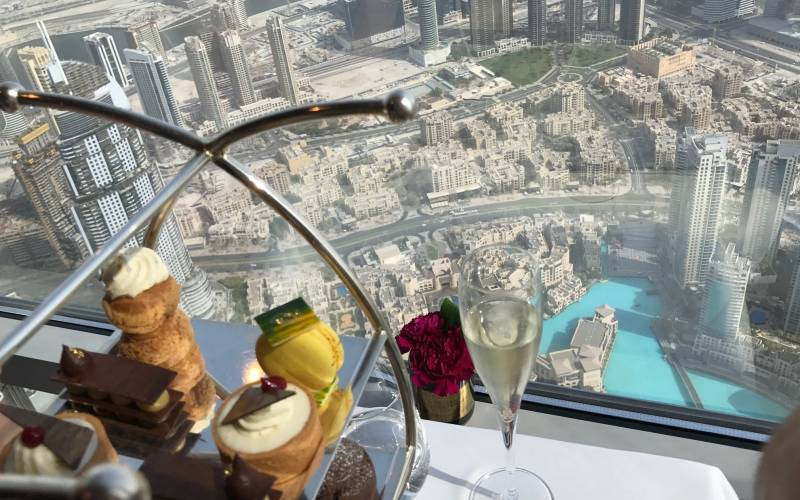Afternoon Tea with View