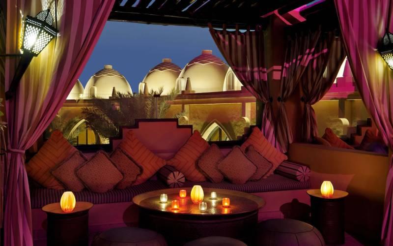 Arabian court rooftop terrace