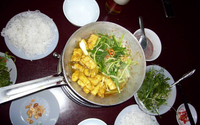 Hanoi food Cha ca La Vong
