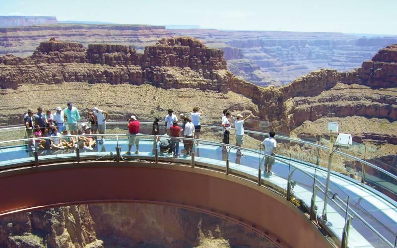 Grand Canyon Skywalk near Las Vegas