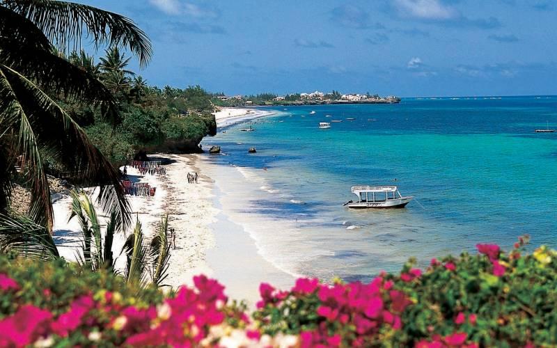 Mombasa North Beach