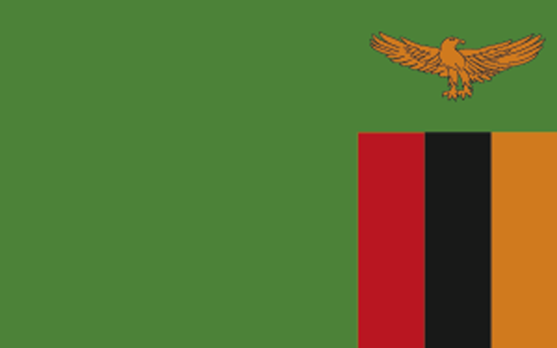 zambia national flag