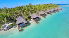 Enchanting Travels Cook Islands Reise Hotel Aitutaki Lagoon Private Island Resort
