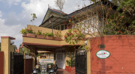 Enchanting Travels India Tours Shillong Hotels Rock Cliff Homestay Entrance